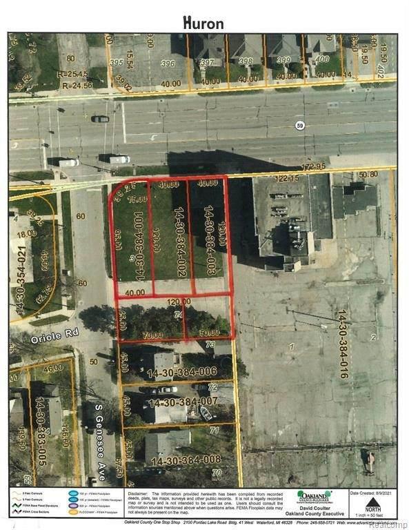 V/L Huron Rd, Pontiac, MI 48341 (MLS #2210065281) :: The BRAND Real Estate