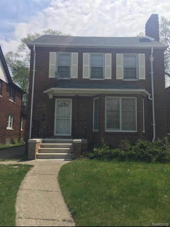 17344 Indiana St, Detroit, MI 48221 (MLS #2210072991) :: The BRAND Real Estate