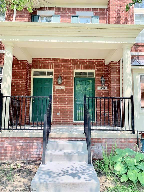 470 Village Ln, Milford, MI 48381 (MLS #2210076499) :: The BRAND Real Estate