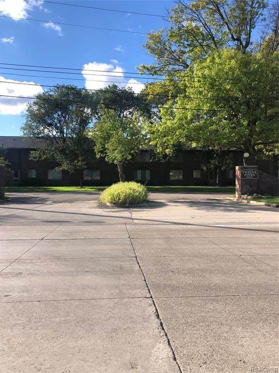 19611 W 12 MILE RD, Southfield, MI 48076 (MLS #2210082830) :: Kelder Real Estate Group
