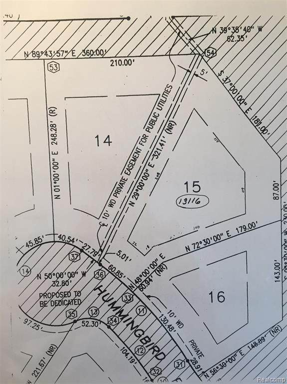 13148 Hummingbird Ridge Lot 14, Springfield, MI 48350 (MLS #2210084808) :: Kelder Real Estate Group