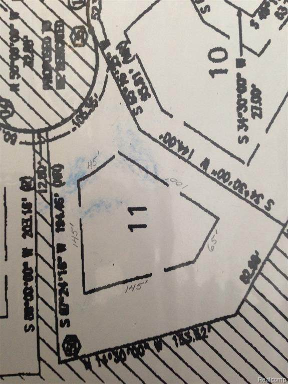 13143 Hummingbird Rdg Lot 11, Davisburg, MI 48350 (MLS #2210084819) :: Kelder Real Estate Group
