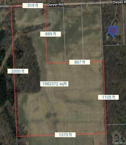 0000 Dwyer Rd, Howell, MI 48855 (MLS #2210087649) :: The BRAND Real Estate