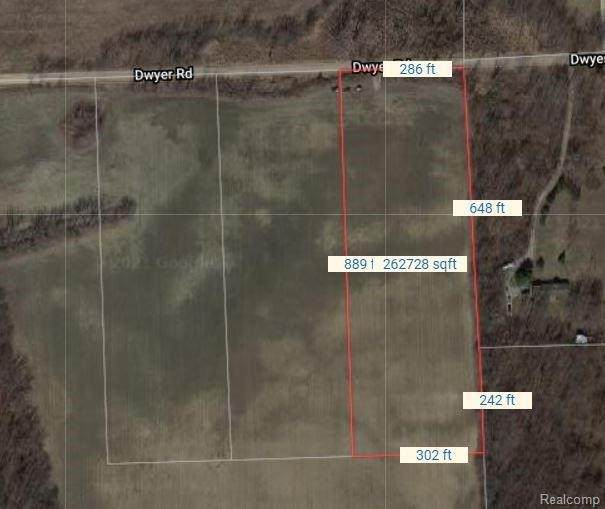 0020 Dwyer Rd, Howell, MI 48855 (MLS #2210087897) :: The BRAND Real Estate