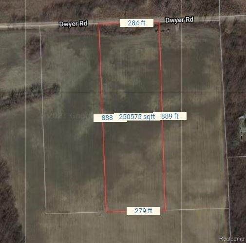 00021 Dwyer Rd, Howell, MI 48855 (MLS #2210087912) :: The BRAND Real Estate