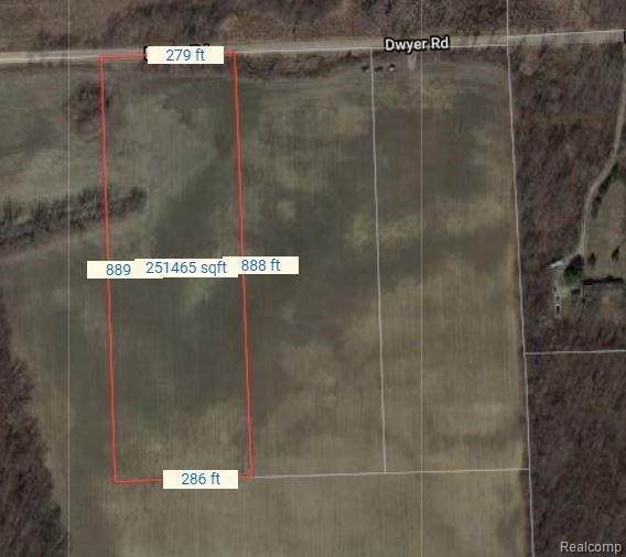 00022 Dwyer Rd, Howell, MI 48855 (MLS #2210087931) :: The BRAND Real Estate