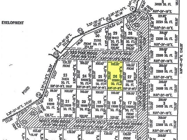 26 Red Pine Ridge, Harrison, MI 48625 (MLS #50046109) :: The Tom Lipinski Team at Keller Williams Lakeside Market Center