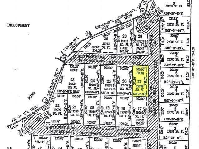 27 Red Pine Ridge, Harrison, MI 48625 (MLS #50046111) :: The Tom Lipinski Team at Keller Williams Lakeside Market Center