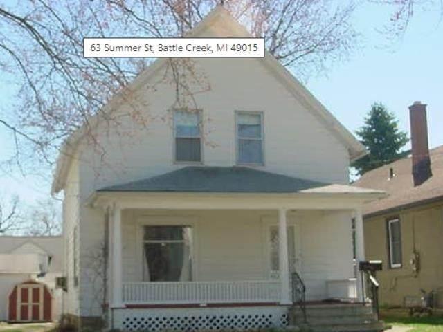 63 Summer St, Battle Creek, MI 49015 (MLS #50048085) :: Kelder Real Estate Group