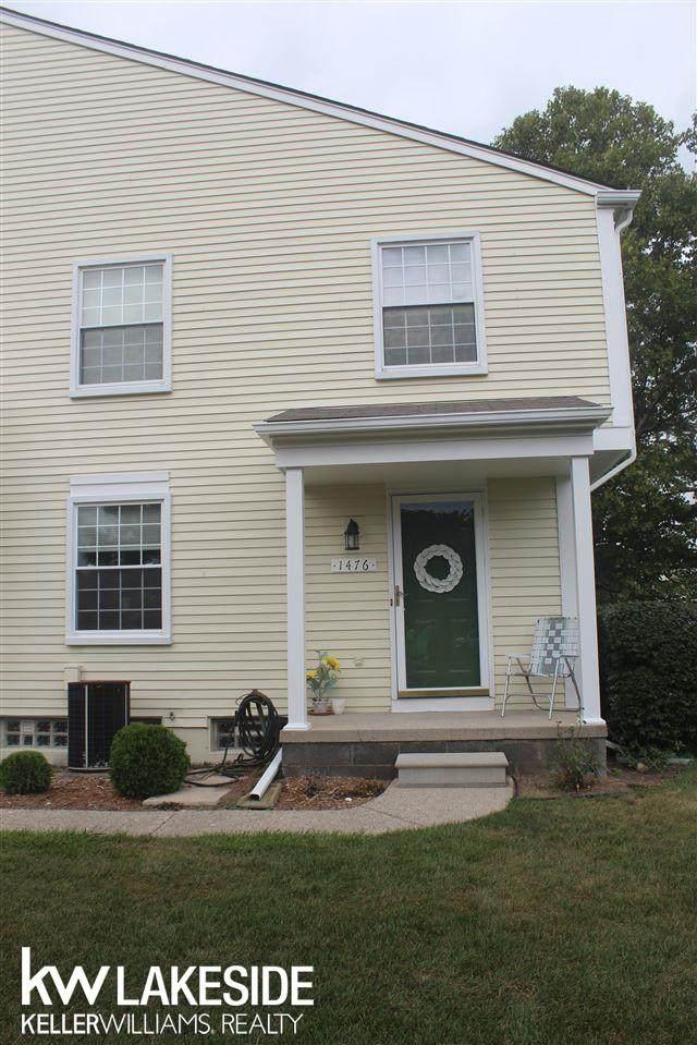 1476 Harbor Dr, Walled Lake, MI 48390 (MLS #50054964) :: The BRAND Real Estate