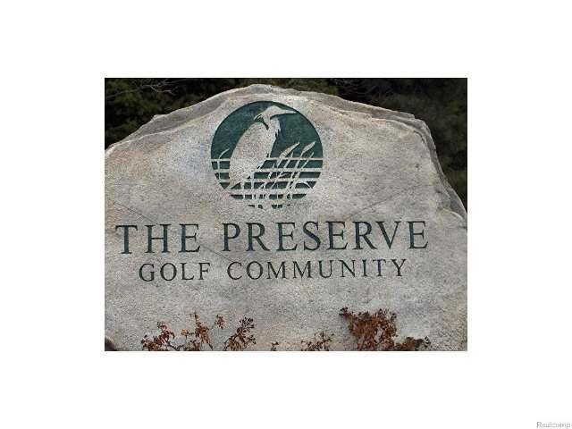 Preserve Drive, Fenton, MI 48430 (MLS #215043875) :: The Tom Lipinski Team at Keller Williams Lakeside Market Center