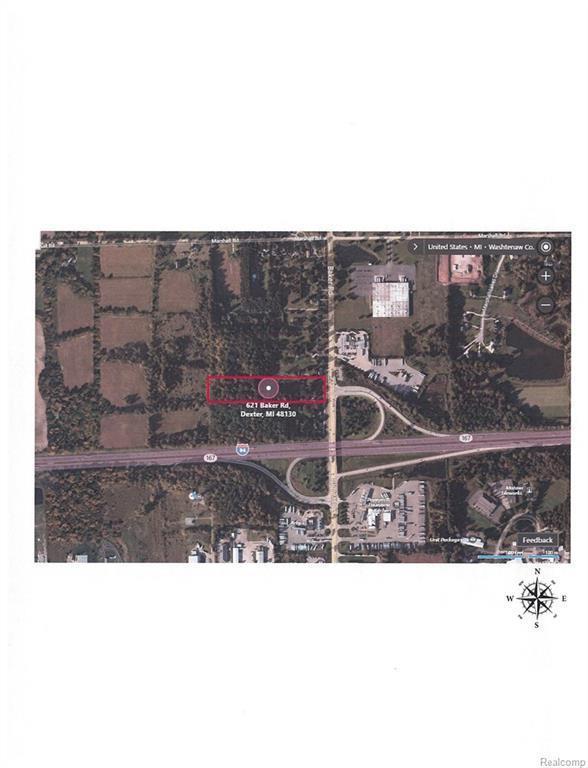 621 Baker Rd, Dexter, MI 48130 (MLS #217010918) :: The Tom Lipinski Team at Keller Williams Lakeside Market Center