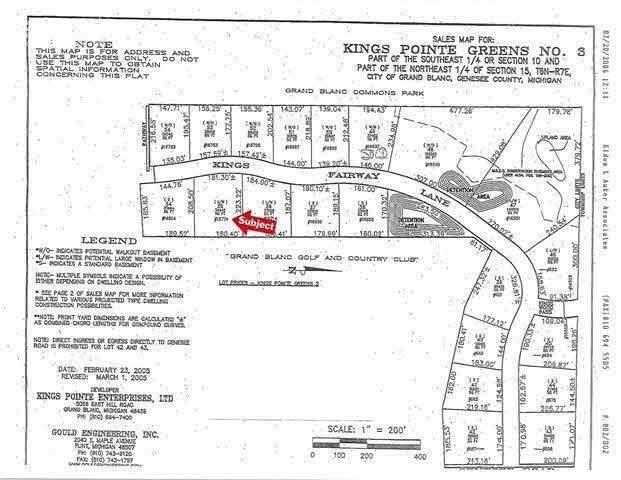 16774 Kings Fairway Lane, Grand Blanc, MI 48439 (MLS #100000909) :: Kelder Real Estate Group