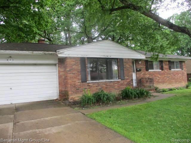 571 Christopher Rd, Jackson, MI 49203 (MLS #2210045061) :: The BRAND Real Estate