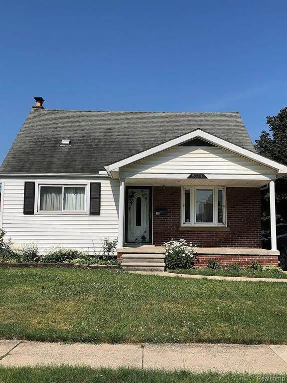 9624 Park Ave, Allen Park, MI 48101 (MLS #2210051616) :: Kelder Real Estate Group