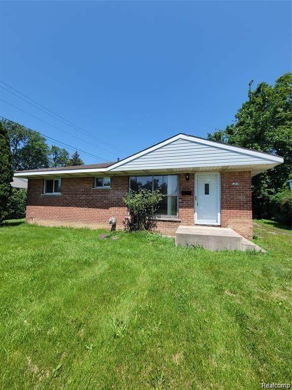 21 E Newport Ave, Pontiac, MI 48340 (MLS #2210086506) :: Kelder Real Estate Group