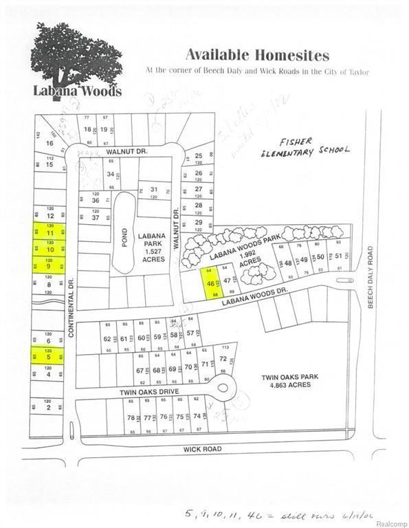 8940 Continental Drv, Taylor, MI 48180 (MLS #215050921) :: The Tom Lipinski Team at Keller Williams Lakeside Market Center