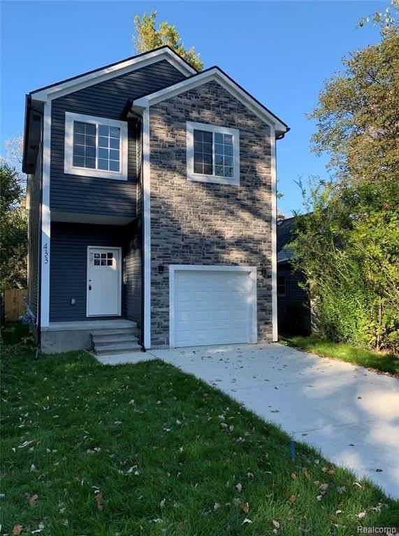 433 E Elza Ave, Hazel Park, MI 48030 (MLS #2210087174) :: Kelder Real Estate Group