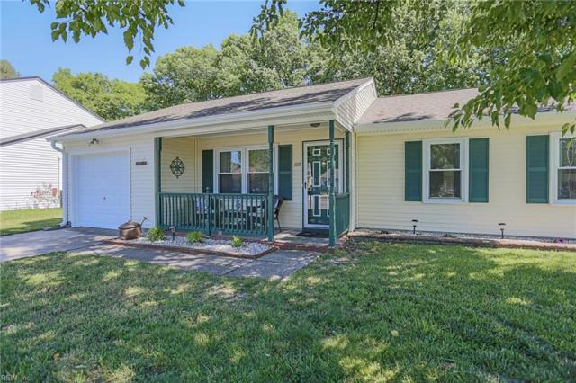 105 Sandy Lake Dr, Hampton, VA 23666 (#10140691) :: Berkshire Hathaway Home Services Towne Realty