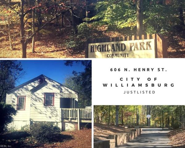 606 N Henry St, Williamsburg, VA 23185 (#10162437) :: RE/MAX Central Realty