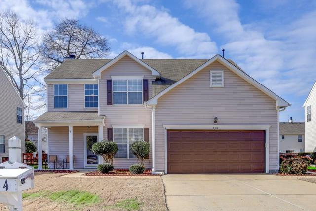 804 Wyemouth Dr, Newport News, VA 23602 (#10180378) :: Green Tree Realty Hampton Roads