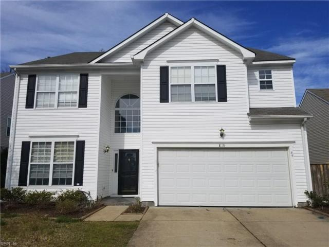 815 Wyemouth Dr, Newport News, VA 23602 (#10182366) :: Green Tree Realty Hampton Roads