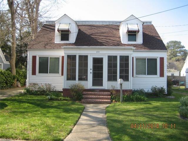 223 E Leicester Ave E, Norfolk, VA 23503 (MLS #10187685) :: Chantel Ray Real Estate