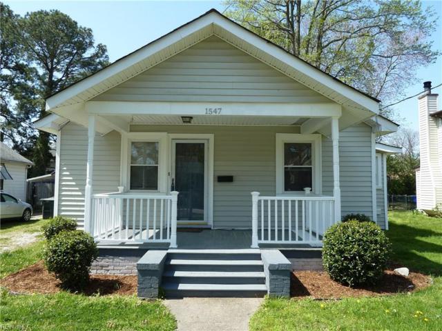 1547 Fleetwood Ave, Norfolk, VA 23502 (MLS #10189078) :: Chantel Ray Real Estate