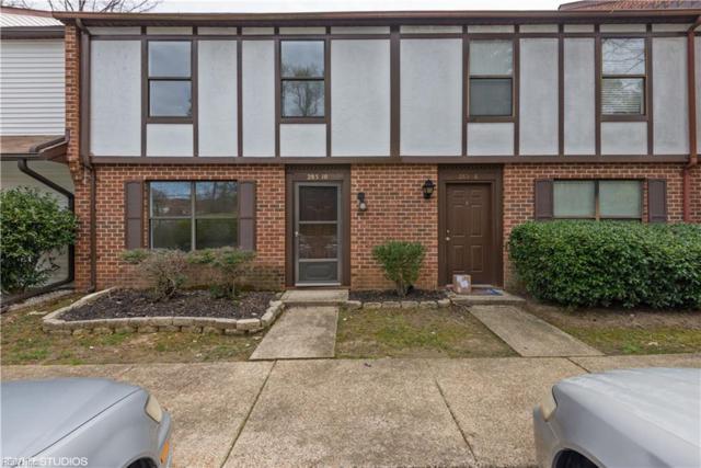 285 Merrimac Trl #10, Williamsburg, VA 23185 (#10190140) :: Chad Ingram Edge Realty