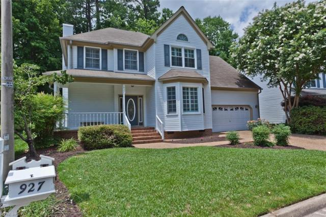 927 Edgewater Dr, Newport News, VA 23602 (#10201661) :: Austin James Real Estate