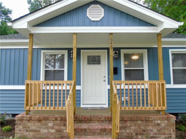 643 Bell St, Hampton, VA 23661 (#10202673) :: RE/MAX Central Realty