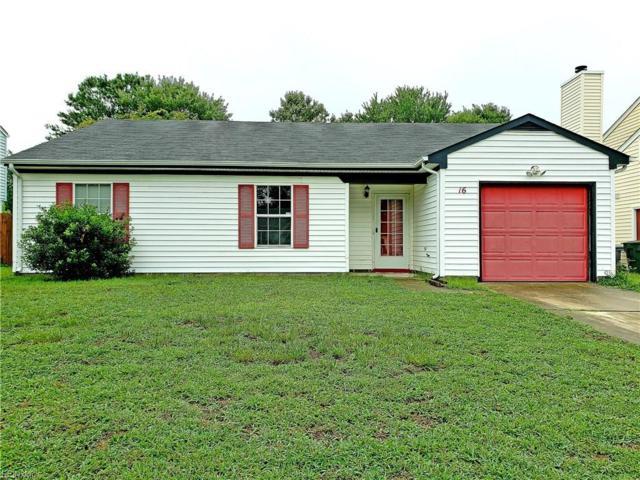 16 Tupelo Cir, Hampton, VA 23666 (#10208543) :: Abbitt Realty Co.