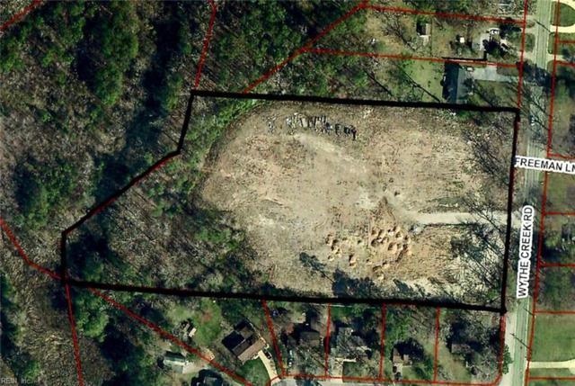 5+ Acr Wythe Creek Rd, Poquoson, VA 23662 (#10210395) :: Green Tree Realty Hampton Roads