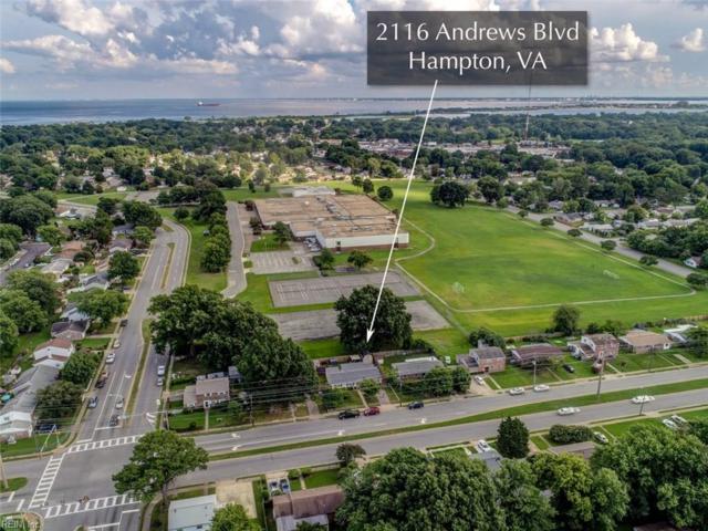 2116 Andrews Blvd, Hampton, VA 23663 (#10210666) :: Atkinson Realty