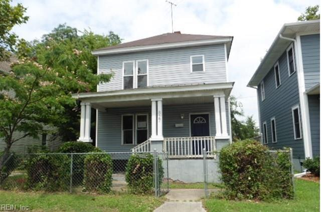 827 27th St, Newport News, VA 23607 (#10210918) :: Austin James Real Estate