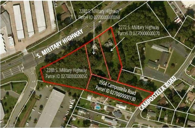 1504 Campostella Rd, Chesapeake, VA 23320 (MLS #10210980) :: Chantel Ray Real Estate