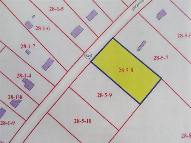 1 Ac Brownsview Ln, Surry County, VA 23883 (#10215861) :: The Kris Weaver Real Estate Team