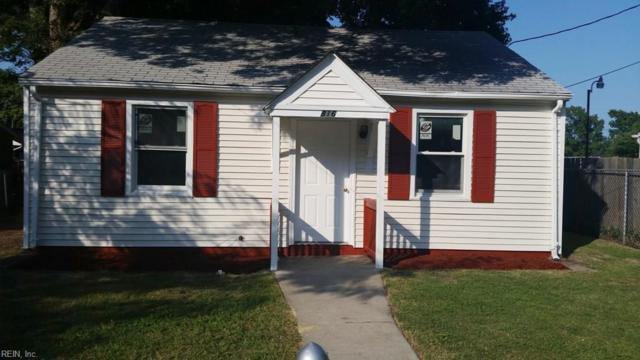 816 Westwood Ave, Hampton, VA 23661 (MLS #10217149) :: AtCoastal Realty