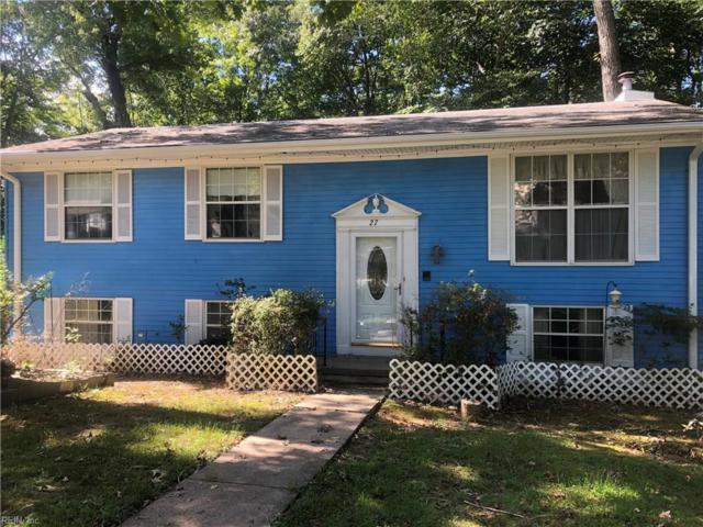 27 Cathy Dr, Newport News, VA 23608 (#10220745) :: The Kris Weaver Real Estate Team