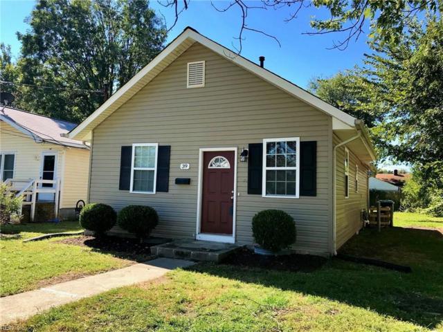 39 W Virginia Ave, Hampton, VA 23663 (#10223607) :: Berkshire Hathaway HomeServices Towne Realty