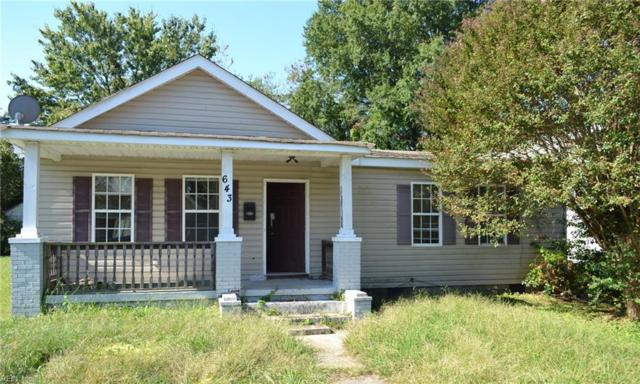 643 Pocahontas Pl, Hampton, VA 23669 (#10224094) :: Reeds Real Estate