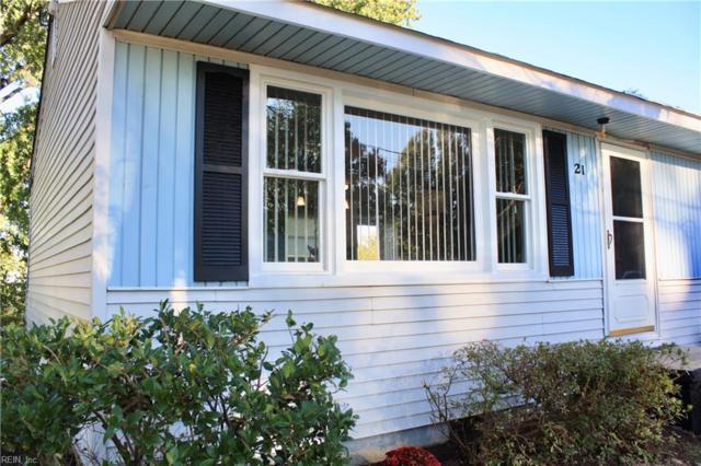 21 Pennwood Dr, Hampton, VA 23666 (#10225664) :: Abbitt Realty Co.