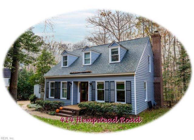 414 Hempstead Rd, James City County, VA 23188 (#10230492) :: Abbitt Realty Co.