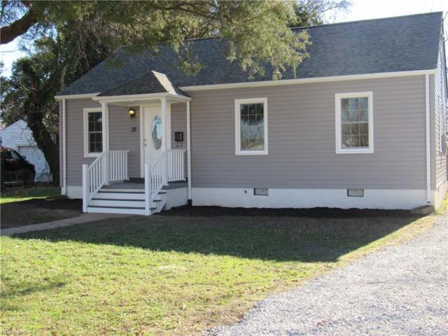 35 Crestwood Cir, Hampton, VA 23669 (#10235127) :: The Kris Weaver Real Estate Team