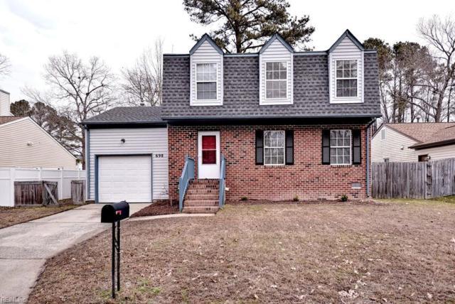 698 Flagship Dr, Newport News, VA 23608 (#10238631) :: Austin James Real Estate