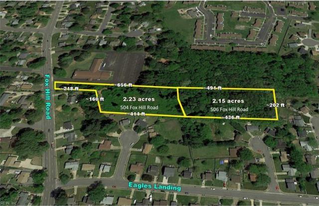 504 Fox Hill Rd, Hampton, VA 23669 (#10241642) :: The Kris Weaver Real Estate Team