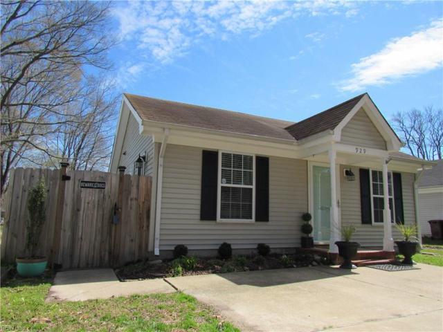 929 Oklahoma Dr, Chesapeake, VA 23323 (#10244818) :: Atkinson Realty