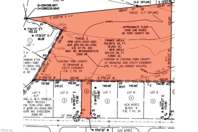 108 Ilex Dr, York County, VA 23692 (#10245682) :: The Kris Weaver Real Estate Team