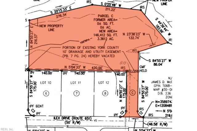 306 Ilex Dr, York County, VA 23692 (#10245690) :: The Kris Weaver Real Estate Team