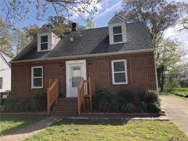 210 Brightwood Ave, Hampton, VA 23661 (#10253768) :: RE/MAX Central Realty